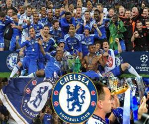 Puzle Chelsea FC, mistr Ligy mistrů 2011-2012 UEFA