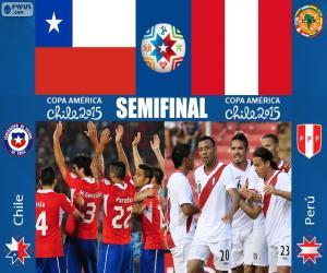 Puzle CHI - PER, Copa America 2015