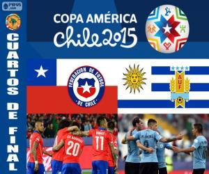 Puzle CHI - URU, Copa America 2015