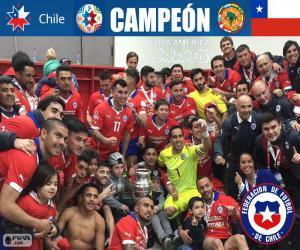 Puzle Chile, Copa America 2015 mistr