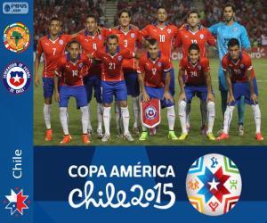 Puzle Chile Copa America 2015