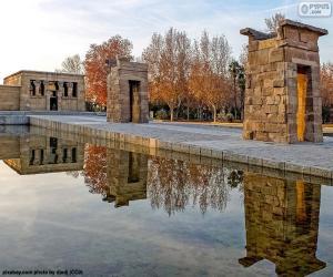 Puzle Chrám Debod, Madrid
