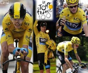 Puzle Chris Froome, Tour de France 2013