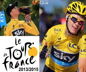 Puzle Chris Froome, Tour de France 2015