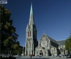 Puzle ChristChurch Cathedral, Nový Zéland