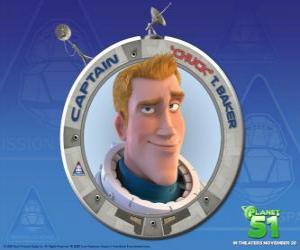 Puzle Chuck dítě snil být astronaut, on je statečný, pohledný a jistý sám sebou