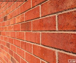 Puzle Cihlová zeď