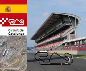 Puzle Circuit de Catalunya - Španělsko -