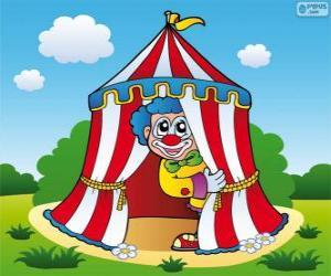 Puzle Cirkusový stan