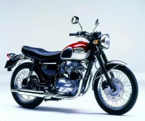 Puzle Classic silniční motocykly (Kawasaki W650)
