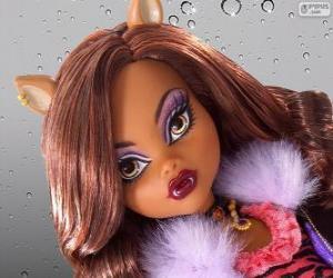 Puzle Clawdeen Wolf z Monster High