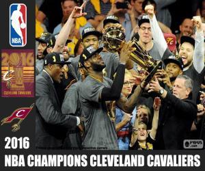 Puzle Cleveland Cavaliers, mistr NBA 2016