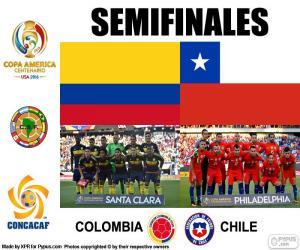 Puzle COL-CHI, Copa America 2016