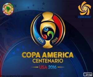 Puzle Copa América Centenario 2016 logo