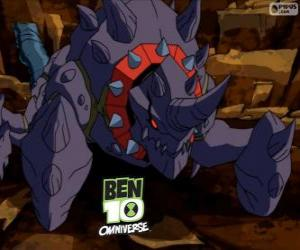 Puzle Crabdozer je Nemetrix cizinci, Ben 10 Omniverse