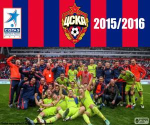 Puzle CSKA Moskva, mistr 2015-2016