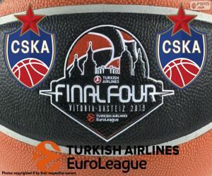 Puzle CSKA Moskva, vítěz Euroligy 2019