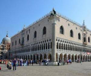 Puzle Dóžecí palác, Itálie