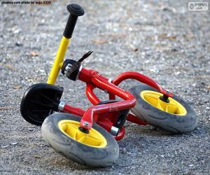 Puzle Dětské kolo