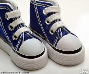 Puzle Dětské sportovní boty