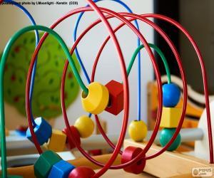 Puzle Dřevěné a kovové hračky