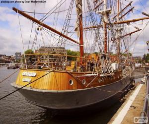 Puzle Dřevěné plachetnice