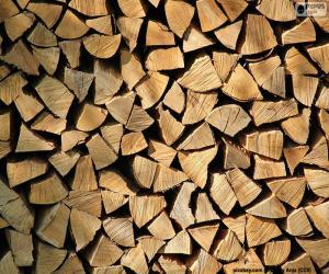 Puzle Dřevo řezané