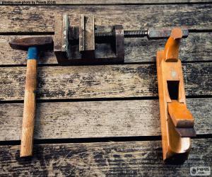 Puzle Dřevoobráběcí nástroje
