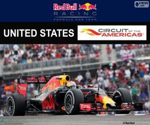 Puzle Daniel RICCIARDI, Grand Prix USA 2016