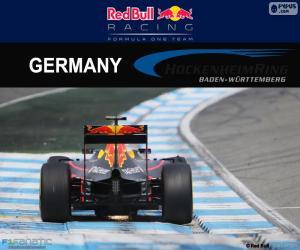 Puzle Daniel Ricciardo, GP Německa 2016
