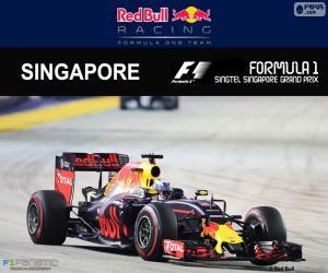 Puzle Daniel Ricciardo, Grand Prix Singapuru 2016