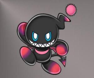Puzle Dark Chao je zlo maskot her Sonic