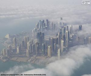Puzle Dauhá, Katar
