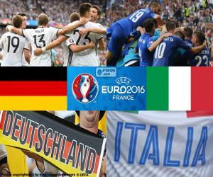 Puzle DE-IT, čtvrtfinále Euro 2016