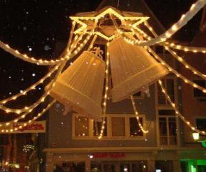 Puzle Dekorace vánoční zvonky