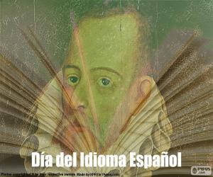 Puzle Den španělského jazyka