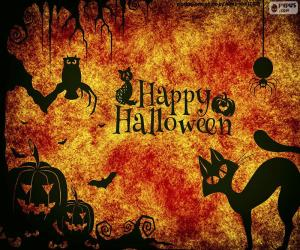 Puzle Den Halloween