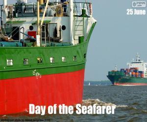 Puzle Den námořník