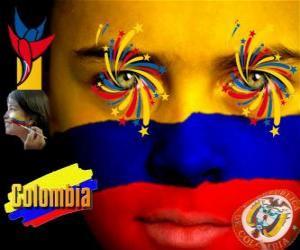 Puzle Den nezávislosti Kolumbie připomíná 20.července 1810