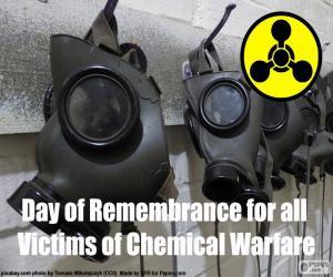 Puzle Den památky všech obětí chemické války