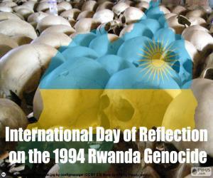 Puzle Den reflexe genocidy ve Rwandě v roce 1994
