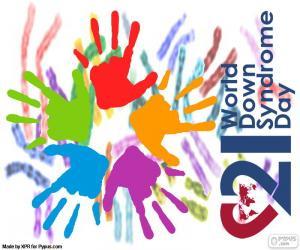 Puzle Den světové Downův syndrom