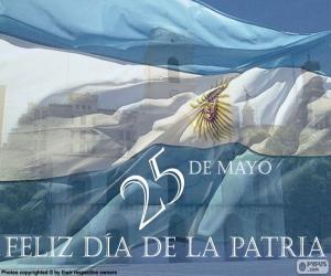 Puzle Den země Argentina