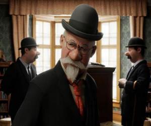 Puzle Detektivové Kadlec a Tkadlec se Aristides Silk
