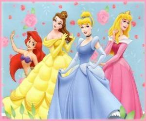 Puzle Disney Princezny