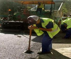 Puzle Dlažby pracovníků