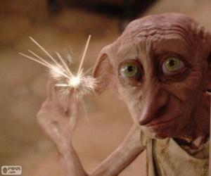 Puzle Dobby, domácí skřítek z Harryho Pottera