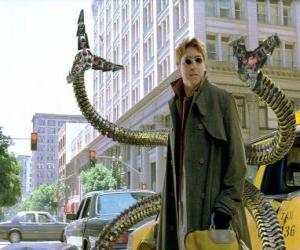 Puzle Doktor Octopus, je vysoce inteligentní šílený vědec, jeden z největších nepřátel Spider-Man