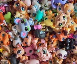 Puzle Domácí mazlíčky Littlest PetShop