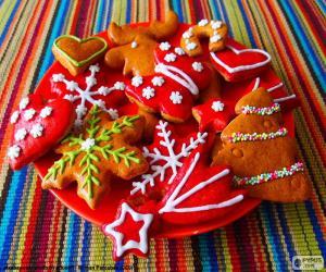 Puzle Domácí vánoční cukroví